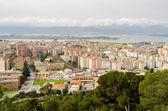 Cagliari, san michele kwartał — Zdjęcie stockowe