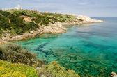 Sardinia, Cala Spinosa — Stock Photo