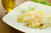 Fennel with bechamel — Stock Photo