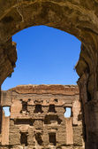 Rome, the Baths of Caracalla — Fotografia Stock