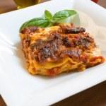Lasagne al forno — Stock Photo #51136903