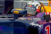 Racer C. Sainz JNR — Stock Photo