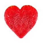 coeur en forme de fraise — Photo #37464703
