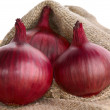 Stock Photo: Red onions