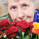 Portrait elderly woman — Stock Photo #8885595