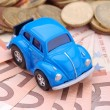 Car and money — Stock Photo #12430406