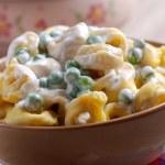 Italian tortellini pasta — Stock Photo