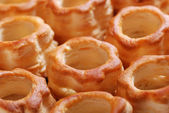 Vol au vent on the table — Stock Photo