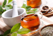 Herb tea — Stock Photo
