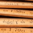 Wood Meter — Stock Photo