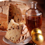 Panettone, food craft — Stock Photo