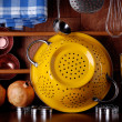 Kitchenware on table — Stock Photo #18904557