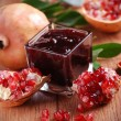 Stock Photo: Pomegranate jam