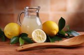 Lemon juice — Stock Photo