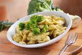 Orecchiette with broccoli — Stock Photo
