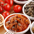Sicilian caponata - Stock Photo