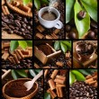 Coffee collage — Stock Photo #23183480