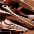 Kitchenware wooden - Stock Photo