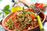 Cous cous se zeleninou — Stock fotografie