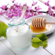 Low-fat yogurt — Stock Photo