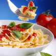Pasta with tomato sauce — Stock Photo #30148377