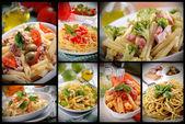 Pasta composition — Stock Photo
