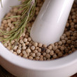 Stock Photo: White pepper