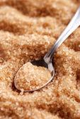 Brauner Zucker — Stockfoto
