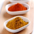 Curry and other spices — Stock Photo