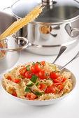 Pasta y verduras — Foto de Stock