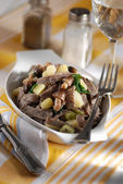Pizzoccheri - buckwheat tagliatelle — Stock Photo