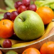 Assorted fruits on the table — Stock Photo