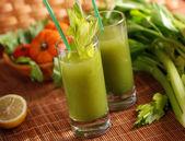 Fresh vegetable juice — Stock Photo