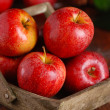 Pile of red apples — Stock Photo #42816207