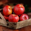 Pile of red apples — Stock Photo #42816239