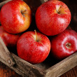 Pile of red apples — Stock Photo #42816339