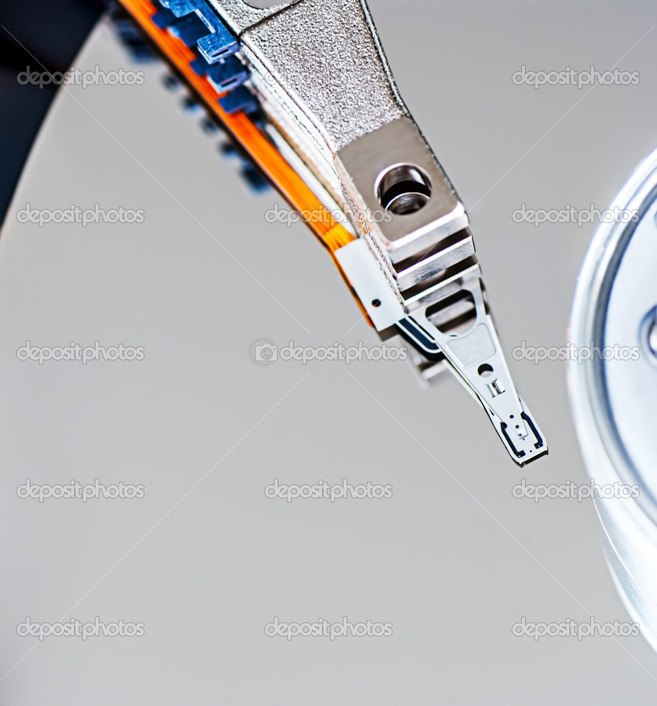 Hard disk drive detail — Stock Photo #12599151