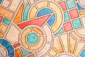 Multicolored stained glass background — Stock Photo