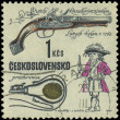 Stock Photo: CZECHOSLOVAKI- CIRC1969: stamp printed in Czechoslovakis