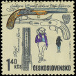 CZECHOSLOVAKIA - CIRCA 1969: A stamp printed in Czechoslovakia s — Stock Photo