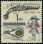 CZECHOSLOVAKIA - CIRCA 1969: A stamp printed in Czechoslovakia s — Stock Photo