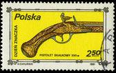 POLAND - CIRCA 1981: A Stamp printed in POLAND shows the image o — Stock Photo