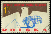POLAND - CIRCA 1965: A stamp printed in Poland shows the army of — Stock Photo