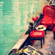 Stock Photo: Venice. gondolas. artwork in painting style