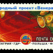 USSR - CIRCA 1985: An airmail stamp printed in USSR shows a space ship, series, circa 1985. — Stock Photo #29122717