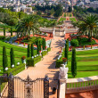 Stock Photo: A beautiful picture of the Bahai Gardens in Haifa Israel.