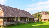 Old deserted wooden farm house. — Stock Photo