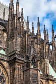 Catedral st. vita em praga — Fotografia Stock