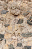 Part of a stone wall.  Kutna Hora, Czech Republic — Stock Photo