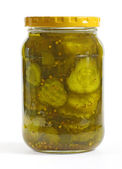 Bread and Butter Pickles — Stock Photo